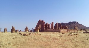 Amon-templet i Naga. Foto (c) Lise Manniche.
