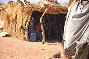 Hos en beduinfamilie. Foto (c) Merete Allen Jensen.