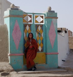 Fra en nubisk landsby. Foto (c) Pia Adamsen.
